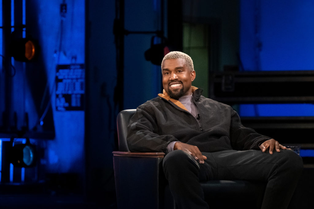 Kanye West on David Letterman's television show